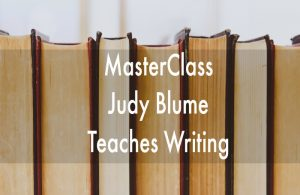 judy blume masterclass